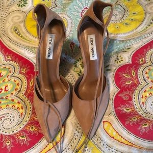 Steve Madden Pamperd Leather Classic Pumps 8.5